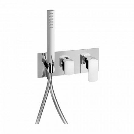 Baterie de duș încorporată de design modern din alamă Fabricat în Italia - Sika