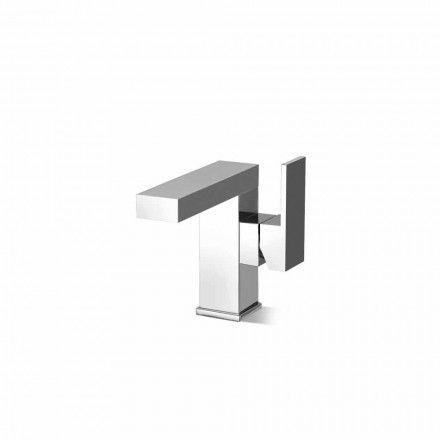 Baterie lavoar pentru baie cu manetă laterală de design Made in Italy - Panela