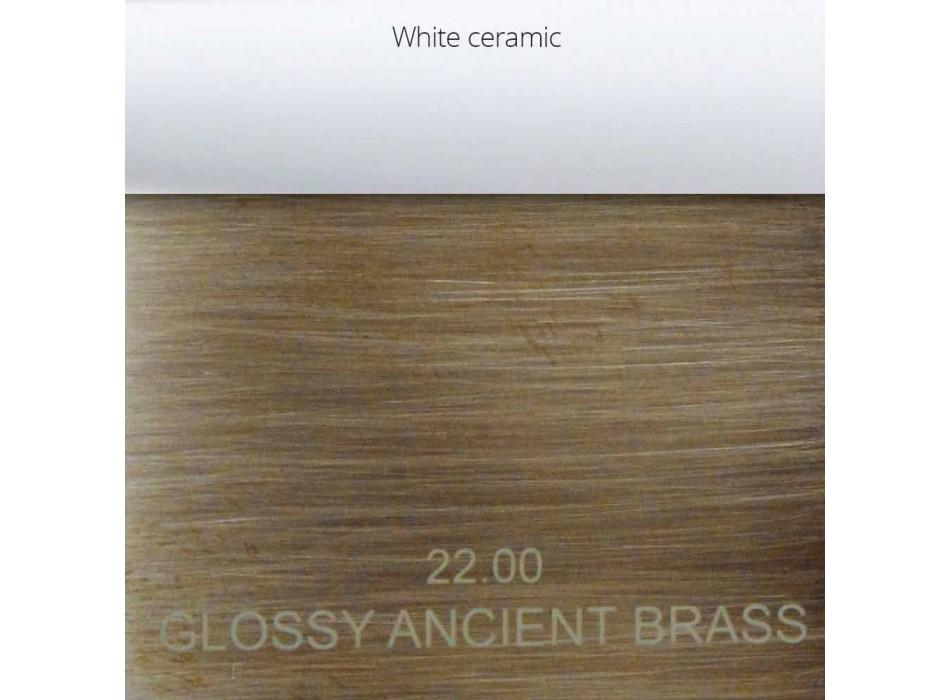 Baterie de cadă clasică din alamă Made in Italy - Eripio