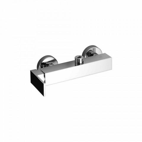 Baterie de duș cu conexiune pe coloană Made in Italy - Panela