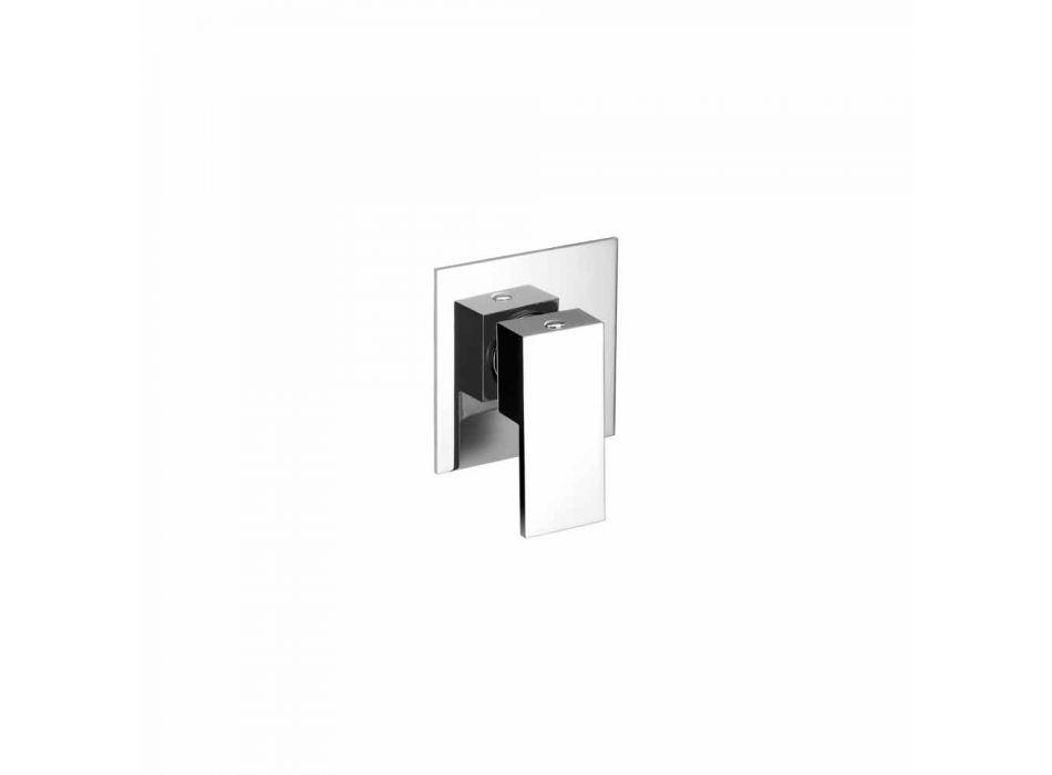 Baterie de duș încorporată de design modern, fabricată în Italia - Bibo