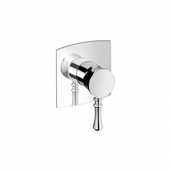 Baterie de duș încorporată din alamă Design modern Fabricat în Italia - Neno