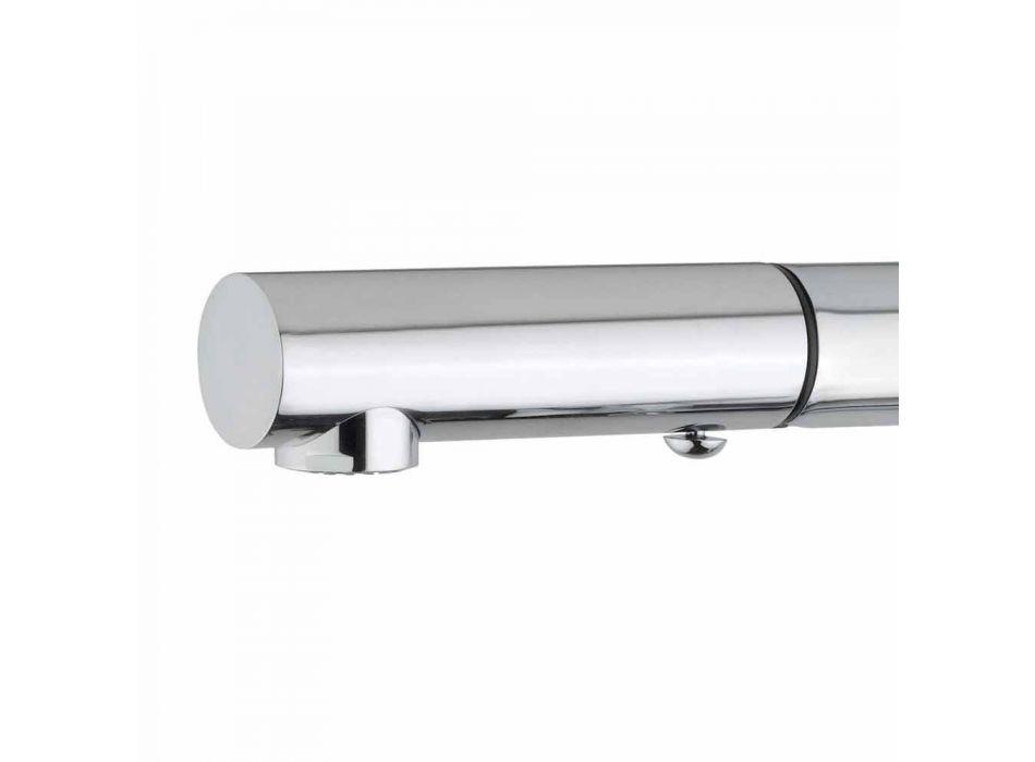 Baterie lavoar cu duș de mână cu 2 jeturi din alamă Fabricat în Italia - Croma