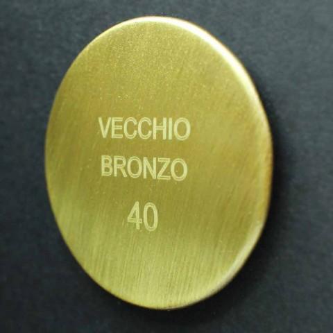 Baterie de baie exterioară din alamă, fabricată în Italia - Neno