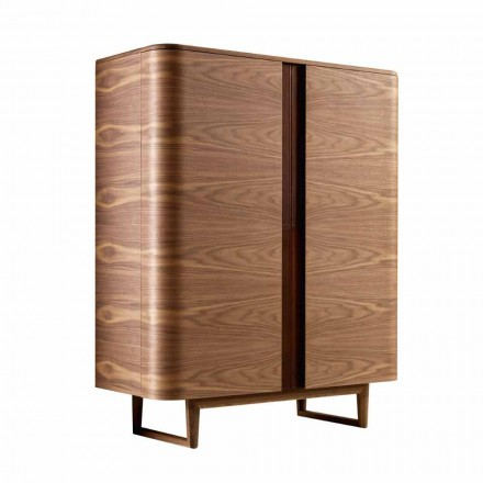 Design cabinet din lemn masiv de 2A Grilli din York, fabricat în Italia