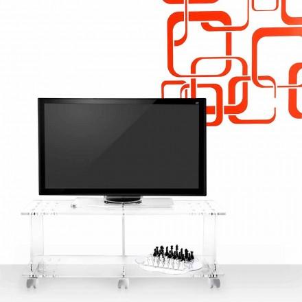 dulap TV cu design modern plexiglass Magician