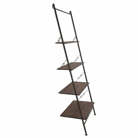 Mobilier din lemn și metal în stil industrial de design modern - Denes