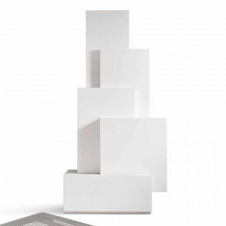 Mobile MDF design living living Cabinetul meu de origine Tetris făcut în Italia