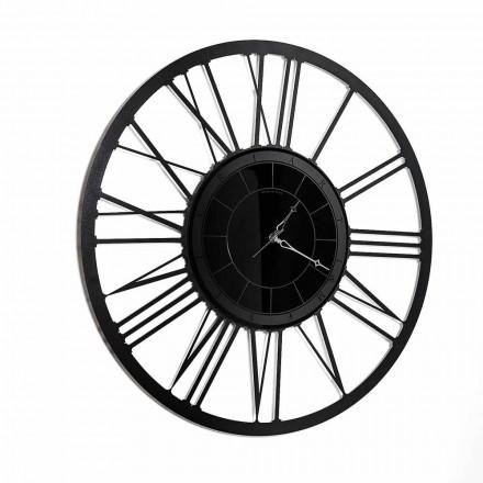 Ceas de perete cu oglindă de design modern realizat în Italia - Gioele