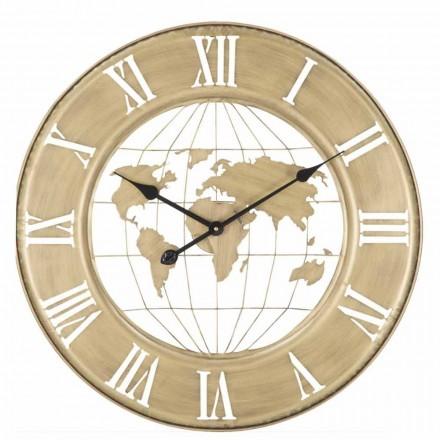 Ceas de perete Diametru 63 cm de design modern în fier - Telma