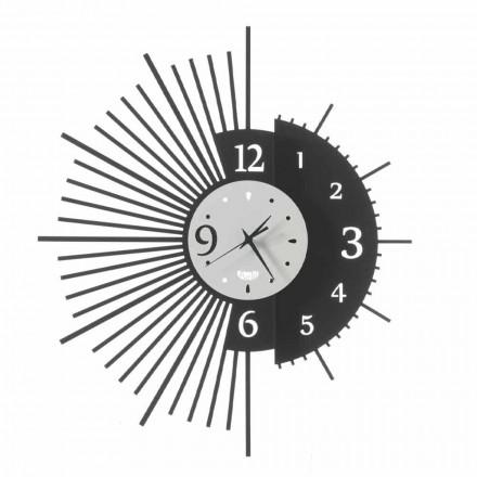 Ceas de perete din fier Design elegant Made in Italy - Aneto