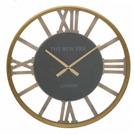 Ceas de perete rotund Diametru 60 cm de design în MDF - Krizia