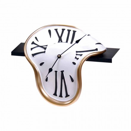 Ceas de masă în rășină decorată manual Fabricat în Italia - Corin