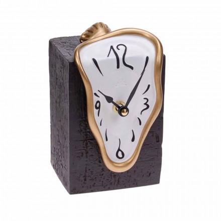 Ceas de masă modern cu mecanism de cuarț Fabricat în Italia - Figaro