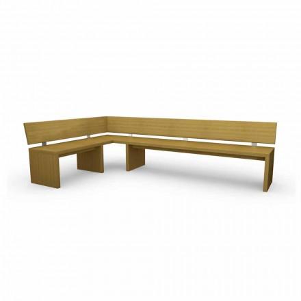 Montaj modern din lemn de stejar, fabricat în Italia, Misty