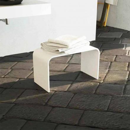 Banca de baie modernă cu design modern a produs 100% în Italia Recanati