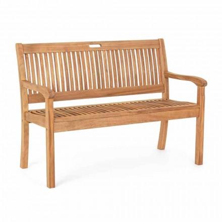Banc de grădină din lemn de salcâm pentru amenajări exterioare cu 2 sau 3 locuri - Roxen
