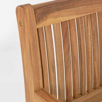Banc de grădină din lemn cu design exterior 2/3 locuri - Roxen