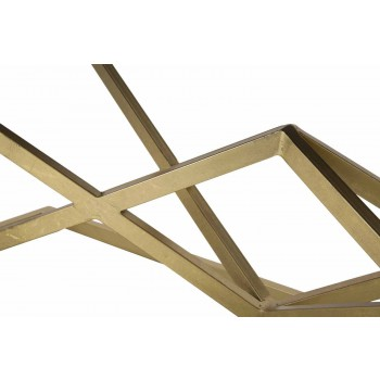 Bănci dreptunghiulare de design modern din fier și țesătură - ticăloasă