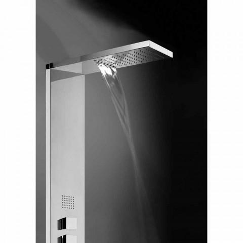 oțel panou de duș multifuncțional Bossini Manhattan Coloana