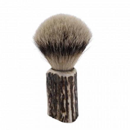 Perie de bărbierit pentru bărbierit, fabricată manual, fabricată în Italia - Euforia