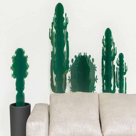 Planta ornamentala din plexiglas, in mai multe culori, H 102 cm, Braies