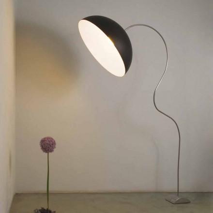 Lampă de podea modernă de H210cm In-es.artdesign Nebulita de culori pe jumătate de lună