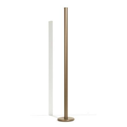 Lampă de podea modernă din metal cu iluminare dublă Fabricat în Italia - Roman