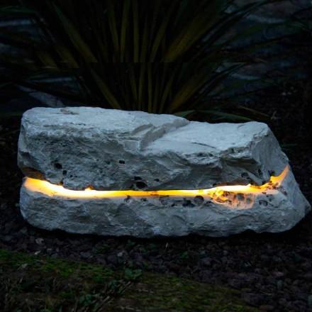 Piatra de iluminare cu sunet difuzor Fior di Pesco Carnico Sound