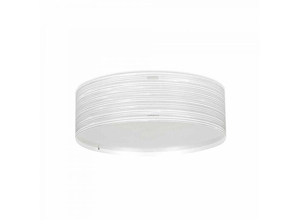 3 lumini plafon design modern polipropilenă Debby, 60 cm diametru