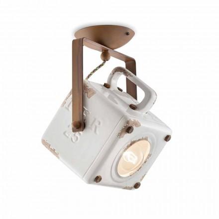 Plafonul pătrat lampă plafon lumina reflectoarelor rabatare de epocă Kaylee