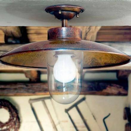 plafon alama, cupru Aldo Bernardi Nabucco și sticla