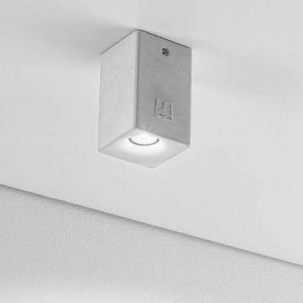 pătrat lampă plafon pentru exterior Led Nadir 2 Aldo Bernardi