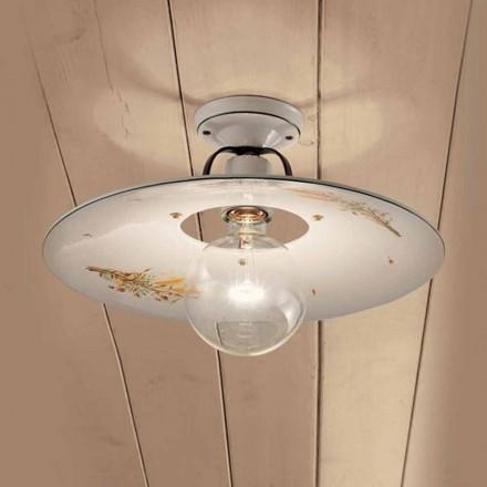 lampă de plafon rotund decorat plafon ceramice Ferroluce