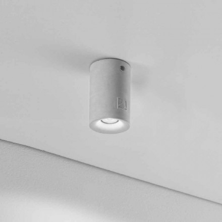 plafon rotund pentru exterior iluminant Nadir 9 din ipsos sau ciment