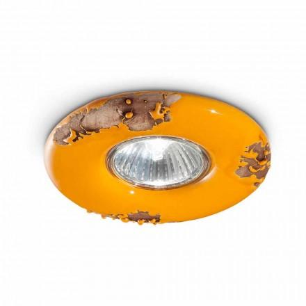 tavan rotund ceramica de epocă lucrate manual Paula Ferroluce
