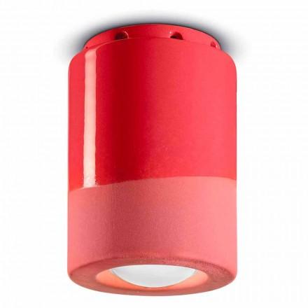 Lampă de tavan vintage în ceramică Made in Italy - Ferroluce Pi
