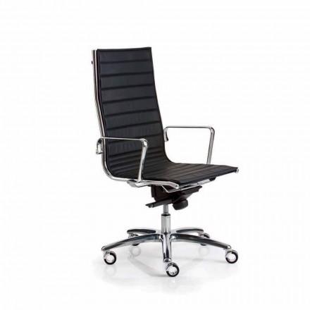 Executive scaun de birou din piele sau material textil Light Luxy