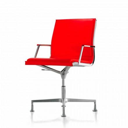 Executive scaun de birou din piele sau material textil Nulite Luxy