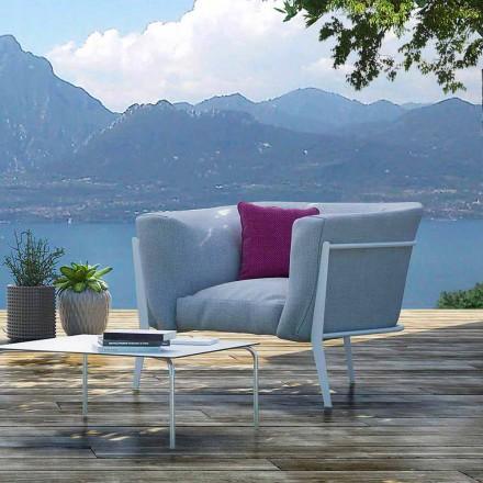 Fotoliu modern și confecționat în Italia Fotoliu de exterior sau interior - Carminio1