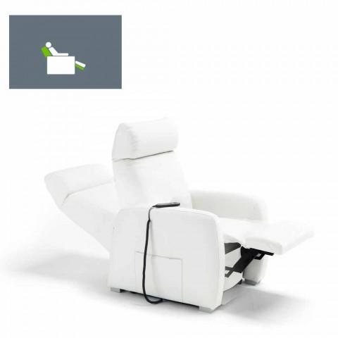 relaxare fotoliu alzapersona 1 motor Via Milano Made in Italy