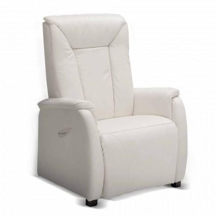 Relax scaun alzapersona 2 motoare de proiectare Rosa, realizate în Italia