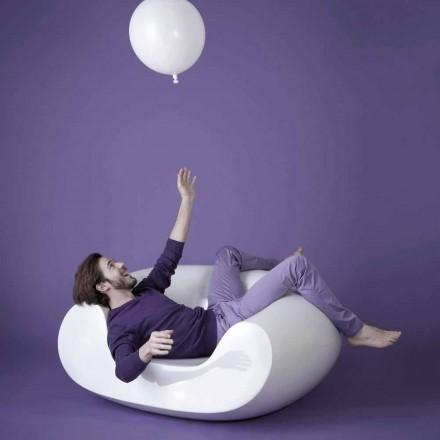 Fotoliu fotoliu de înaltă calitate, Slide Chubby, fabricat în Italia