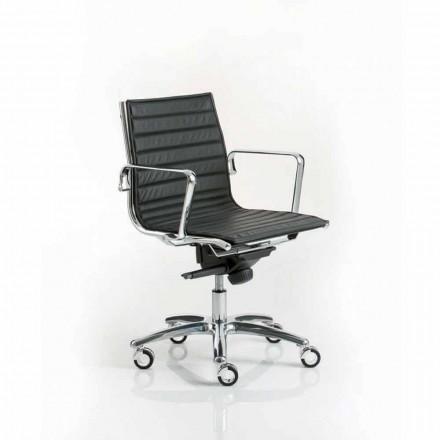 scaun de birou design modern Executive cu roți de lumină Luxy