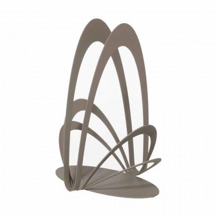 Suport de cupă de fier proiectat manual, fabricat în Italia - Futti