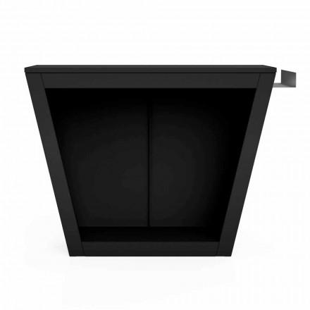 Suport pentru lemn de foc din interior sau exterior cu design de lucru - Esplanade