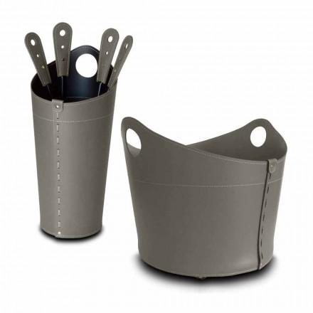 Lemn de păstrare, suport pentru fier și fier pentru piele Nicad, fabricat în Italia