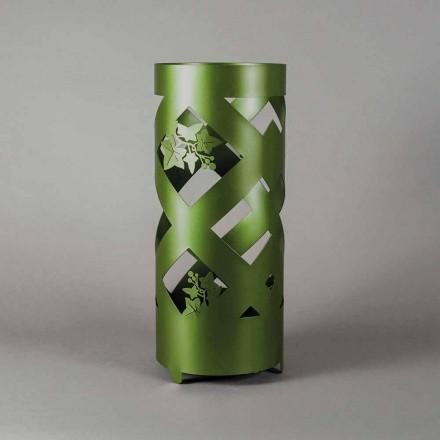 Stand de umbrele din fier colorat de design modern fabricat în Italia - Enrica