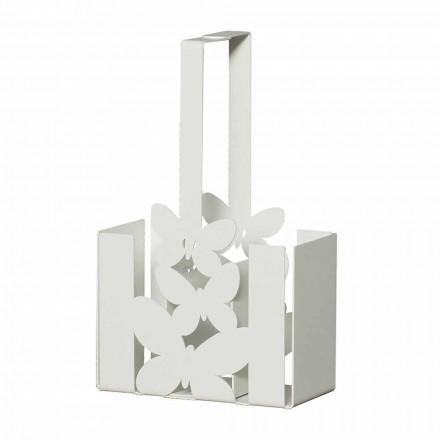 Suport modern pentru tacâmuri din fier, confecționat manual, fabricat Italia - Laida