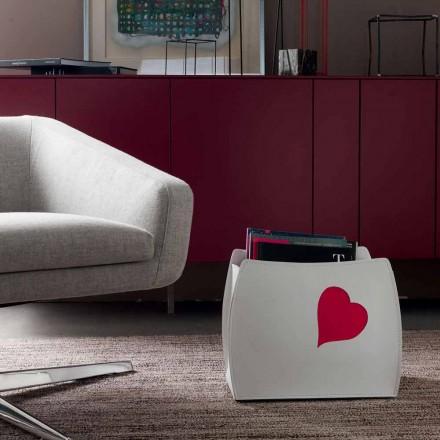 Design rack magazin din piele cu un design modern Beatrice